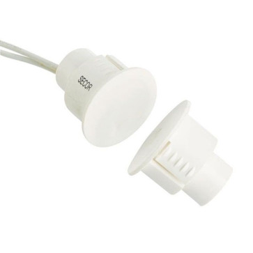 Reed Switch 19mm Flush Mount (White)