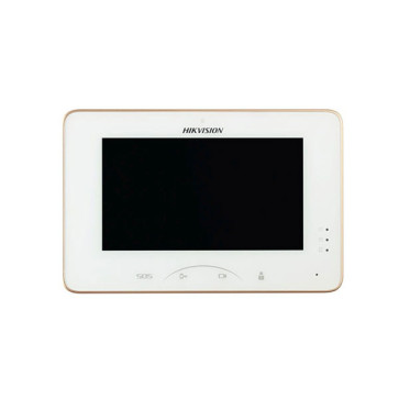 """Hikvision Indoor Room Station 7"""" Touch Screen / 1024 x 600 / White DS-KH8300-T"""