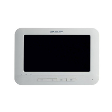 """Hikvision Indoor Room Station 7"""" Touch Screen / 800 x 400 / WiFi /  White DS-KH6310-WL"""