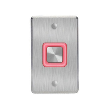 Rosslare Digital Piezo REX Switch with Text 'Push to Exit' EX07E0