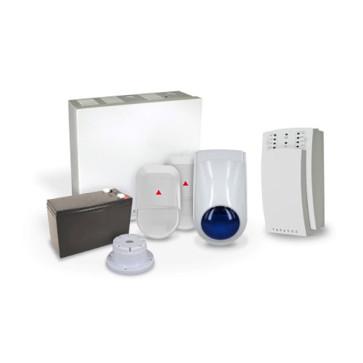 Paradox SP5500 Kit, 2 x NV5, Mini Siren/Strobe (No Keypad) PK-SP5N5M