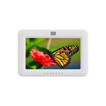 """Paradox TM50 5"""" Touchscreen Keypad White PDX-TM50W"""