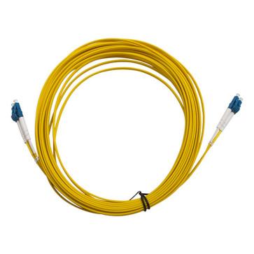 LC-LC OS1 Single Mode Duplex LSZH Fibre Patch Lead 30m