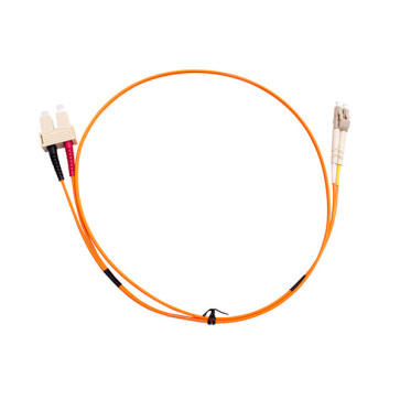 SC-LC Duplex OM1 Multimode Fibre Patch Lead 3m
