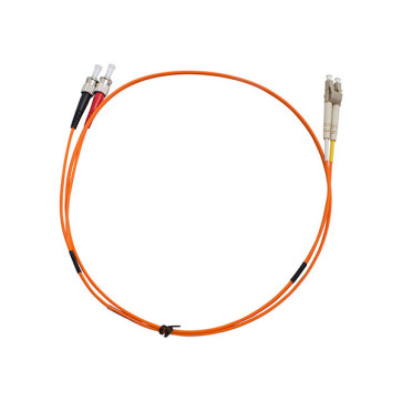 ST-LC Duplex OM1 Multimode Fibre Patch Lead 2m