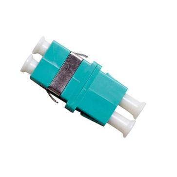 LC Multimode OM3 Duplex Thru Adaptor (6 Pack)