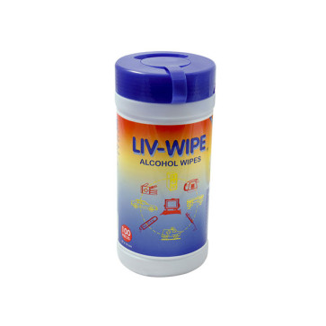 Isopropyl Wipes Tub of 100 ISOWIPE