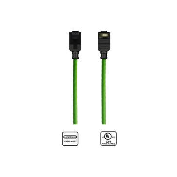 Kordz CAT6 Slim Patch Lead Green 0.25m