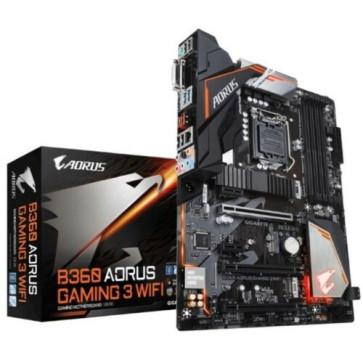 Gigabyte GA-B360 AORUS GAMING 3 LGA1151 8th Gen ATX MB 4xDDR4 5xPCIe DVI HDMI