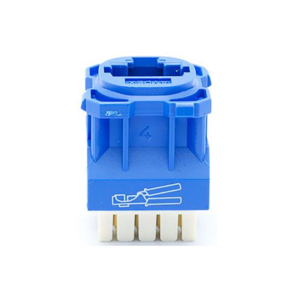 Amdex Cat6 Rj45 Network Insert Blue Da600blu Jamell Perth Wa