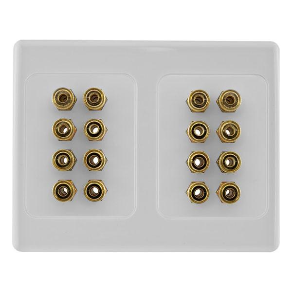 pro2 speaker wall plate 16 terminal pro1144 jamell perth wa. Black Bedroom Furniture Sets. Home Design Ideas
