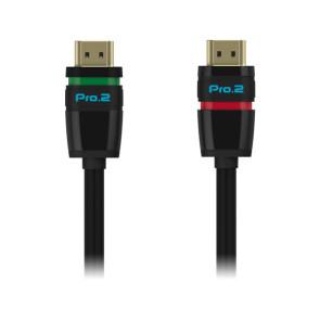 Pro2 Easylock HDMI Locking Cable v2.0 4K 1.5m ELHH015