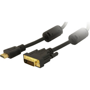 HDMI to DVI-D Male Cable 1.8m