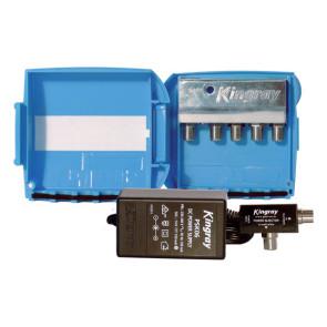 Kingray 4-Output Masthead Splitter Amplifier SAM224FSDP