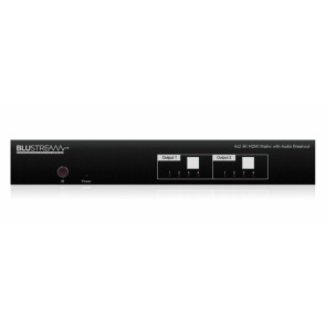 Blustream CMX42AB 4x2 4K HDMI 2.0 Matrix Front
