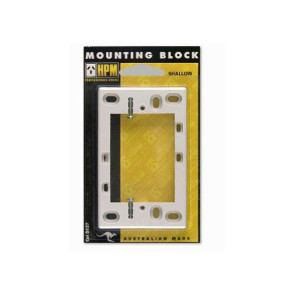 HPM Mounting Block 13mm 137WE