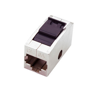 RJ45 Female to Female Modular Joiner Shielded CAT6A 10PK