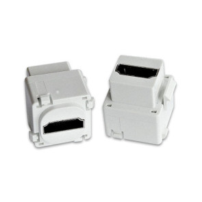 HDMI Wall Plate Insert v2.0 1080p 3D 4K (2 Pack)
