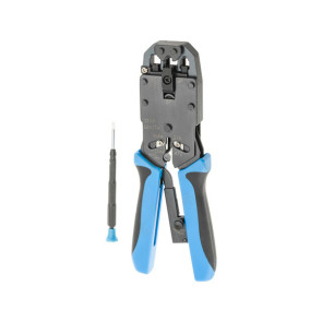 """Hanlong Pro 8.3"""" 210mm RJ11 RJ12 RJ45 Crimping Tool HT2008AR"""