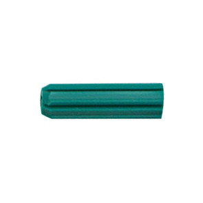 Cabac Wall Plug 7G x 25 Green PKT/100 WP25G