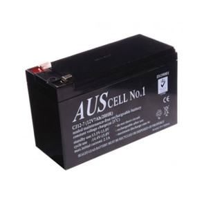 AUSCell 12v 7.0Ah Sealed Lead Acid (SLA) Battery CJ12-7