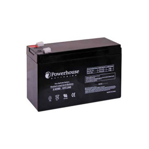 Powerhouse 12v 7.2Ah Sealed Lead Acid (SLA) Battery S5090D
