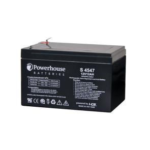Powerhouse 12v 12Ah Sealed Lead Acid (SLA) Battery S4547