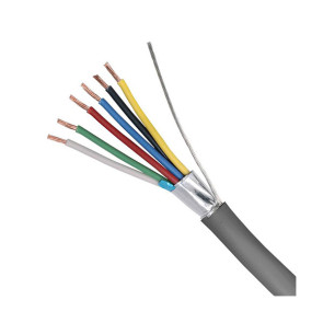7 Core 7/020 Shielded Security Cable 250m Grey