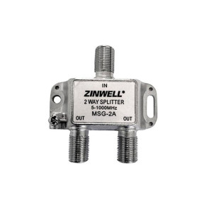 Zinwell 2 Way 1200Mhz Splitter for NBN HFC MSG-2A-1.2