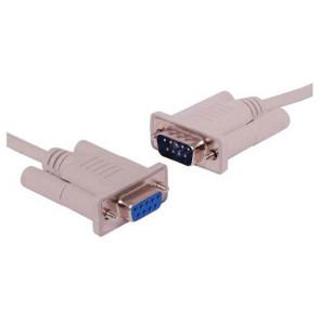 Serial Extension Cable DB9F-DB9M 2m
