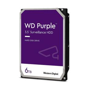 """Western Digital Purple Surveillance WD60PURZ 6TB 3.5"""" Internal Hard Drive"""