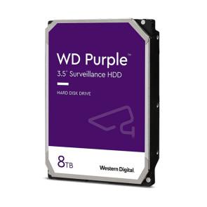 """Western Digital Purple Surveillance WD82PURZ 8TB 3.5"""" Internal Hard Drive"""