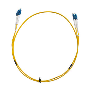 LC-LC OS1 Single Mode Duplex LSZH Fibre Patch Lead 2m