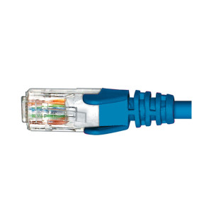 Cabac CAT6 Patch Lead Blue 0.5m PLC6BL0.5