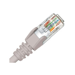 Hypertec CAT6 Patch Lead 0.3m Grey