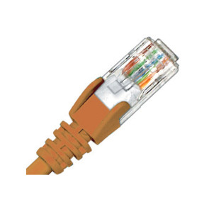 Hypertec CAT6 Patch Lead 0.3m Orange