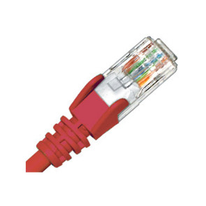 Hypertec CAT6 Patch Lead 0.3m Red