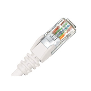 Hypertec CAT6 Patch Lead 0.3m White