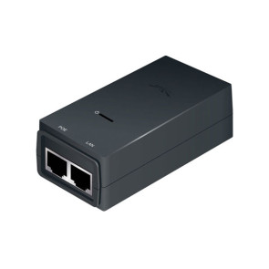 Ubiquiti POE Injector, 24VDC 12W, Gigabit Ethernet, ESD protection & LED