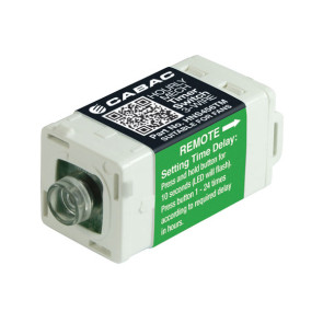 Cabac S-Click Hour Timer S-Premium 3-Wire  (Clipsal Saturn) HNS456TM