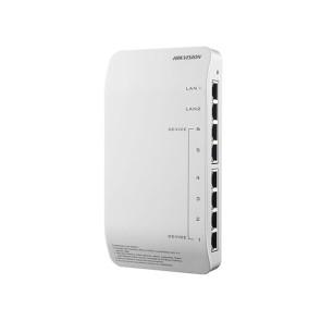 Hikvision Intercom 6 Port Video & Audio Distributor / Plastic inc Power Supply DS-KAD606-P