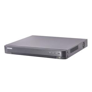 Hikvision TVI4.0 4ch DVR, H.265+, HDTVI/HDCVI/AHD/CVBS, 2 HDD Bays, 5MP@12fps, 2TB HDD DS-7204HUHI-K2