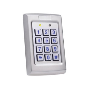 Rosslare Convertible Anti-Vandal Wiegand Backlit 3x4 PIN Reader / Controller AYC-Q54B