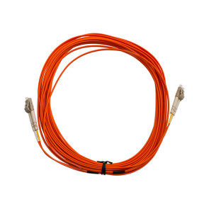 LC-LC Duplex OM1 Multimode Fibre Patch Lead 25m