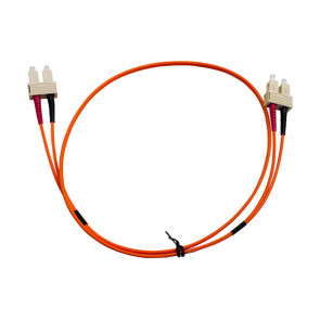 SC-SC Duplex OM1 Multimode Fibre Patch Lead 1m