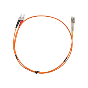 ST-LC Duplex OM1 Multimode Fibre Patch Lead 1m