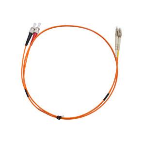 ST-LC Duplex OM1 Multimode Fibre Patch Lead 3m