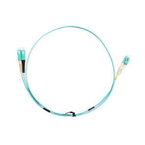 SC-LC Duplex OM3 Multimode Fibre Patch Lead 1m
