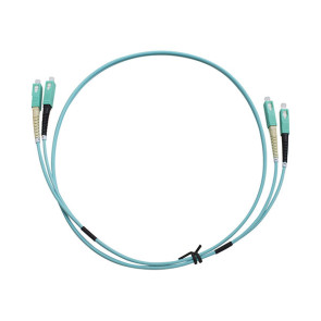 SC-SC Duplex OM3 Multimode Fibre Patch Lead 1m