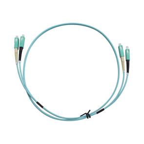SC-SC Duplex OM3 Multimode Fibre Patch Lead 1m